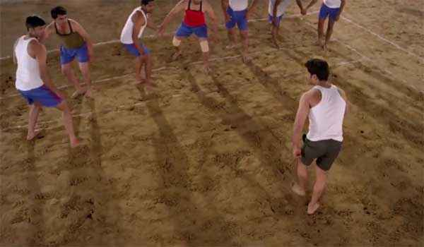 Badlapur Boys Shashank Udaypurkar Playing Kabaddi Stills