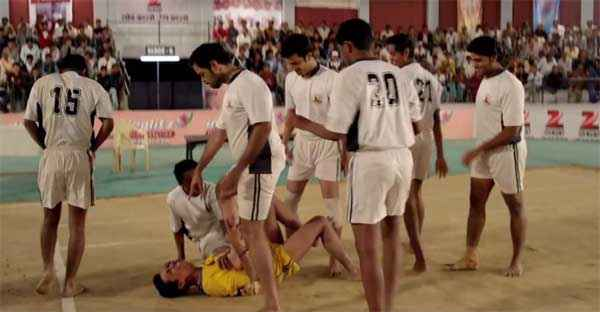 Badlapur Boys Team Playing Kabaddi Stills