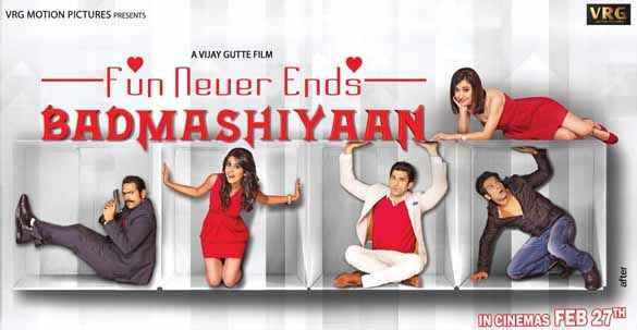 Badmashiyaan - Fun Never Ends First Look Poster