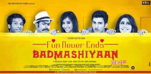 Badmashiyaan - Fun Never Ends Image Poster
