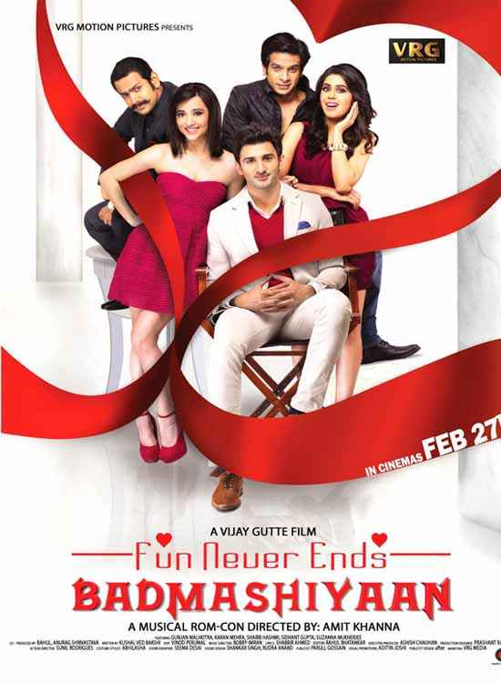 Badmashiyaan - Fun Never Ends Poster