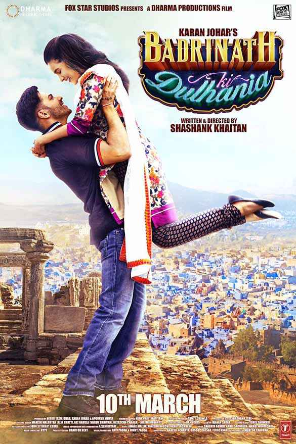 Badrinath Ki Dulhania  Poster