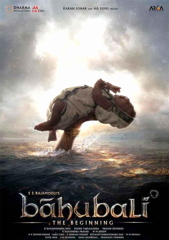Bahubali : The Beginning Image Poster