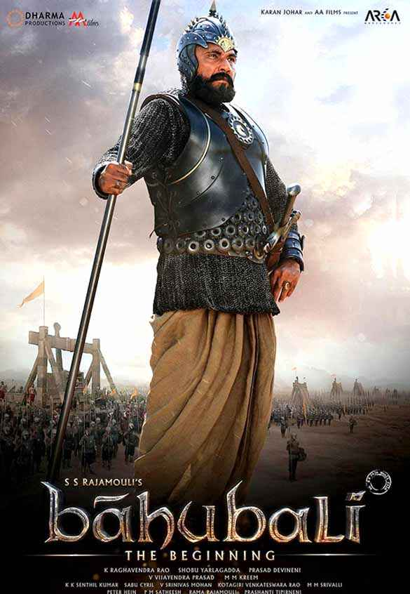 Bahubali : The Beginning Sathyaraj Poster