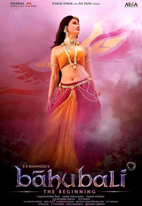 Bahubali : The Beginning Tamannaah Bhatia Poster