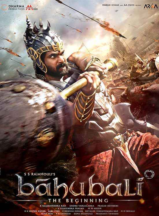 Bahubali : The Beginning Poster