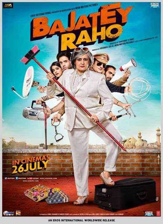 Bajatey Raho  Poster