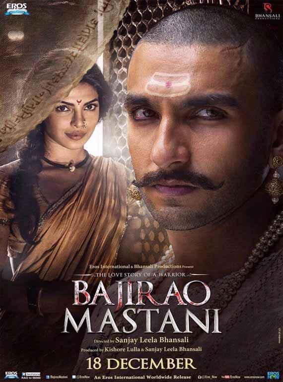 Bajirao Mastani Priyanka Chopra Ranveer Singh Poster