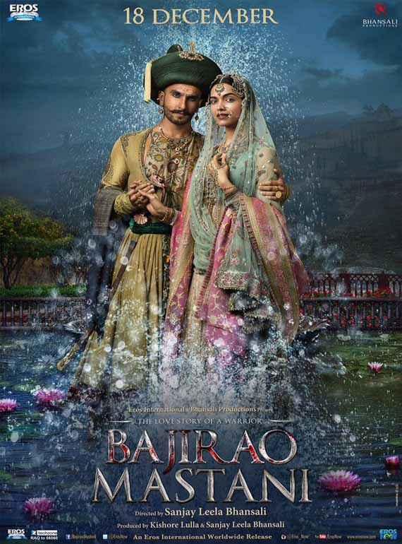 Bajirao Mastani Ranveer Singh Deepika Padukone Poster