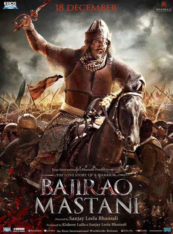 Bajirao Mastani Ranveer Singh Wallpaper Poster