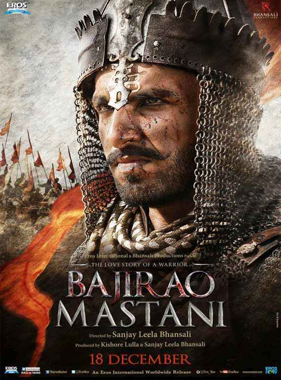 Bajirao Mastani Ranveer Singh Poster