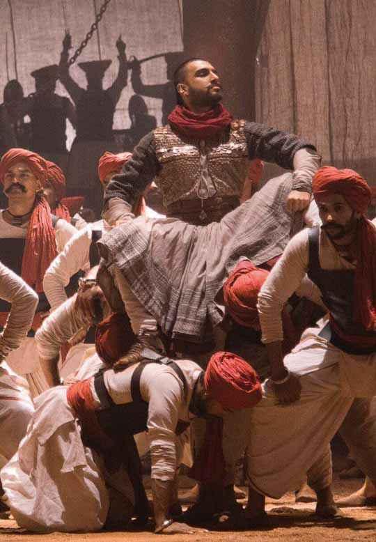 Bajirao Mastani Ranveer Singh Acting Stills