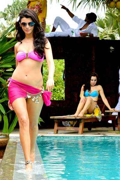 Balwinder Singh Famous Ho Gaya Gabriela Bertante Hot Bikini Photo Stills