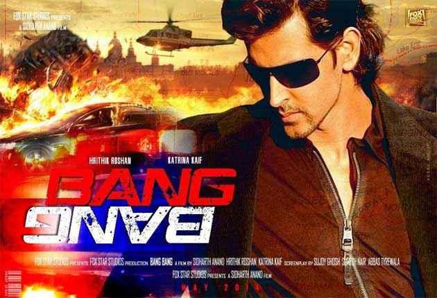 Bang Bang Hrithik Katrina Poster