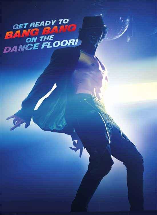 Bang Bang Hrithik Roshan Dance Poster