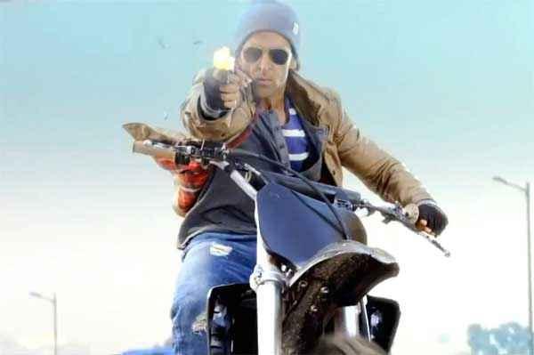 Bang Bang Hrithik Roshan Bike Stunt Stills