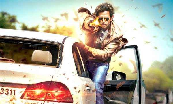 Bang Bang Hrithik Roshan Car And Gun Stunts Stills