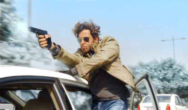 Bang Bang Hrithik Roshan Car Stunts Stills