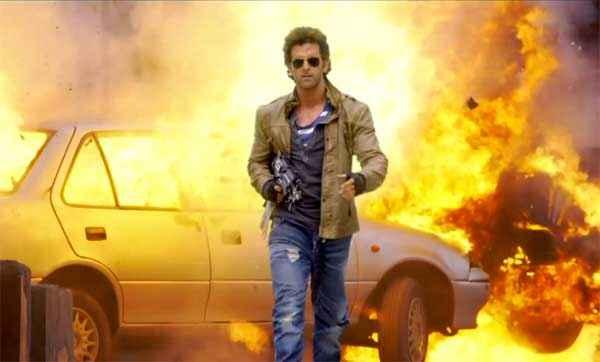 Bang Bang Hrithik Roshan Stunt With Car Stills