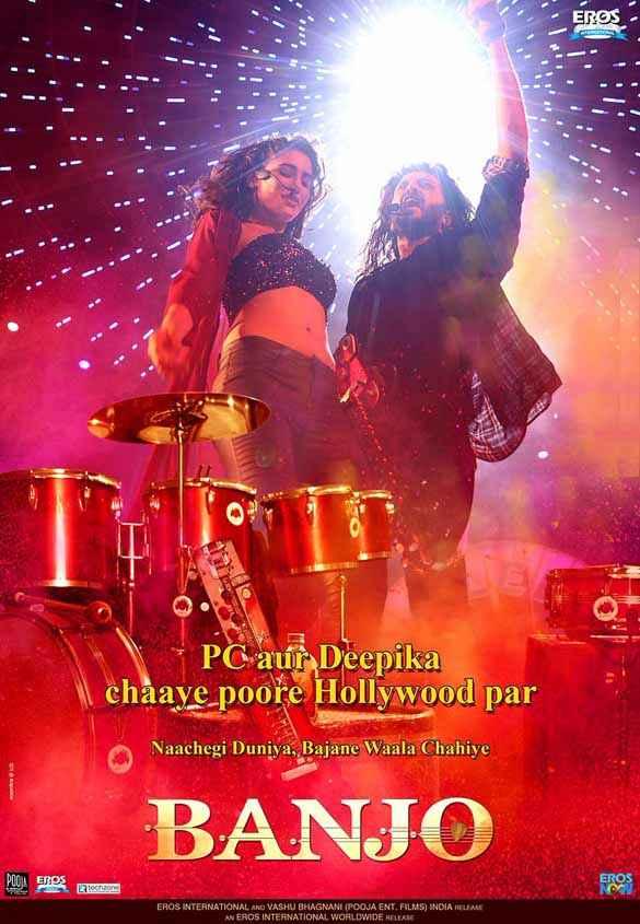 Banjo Nargis Fakhri Riteish Deshmukh Poster