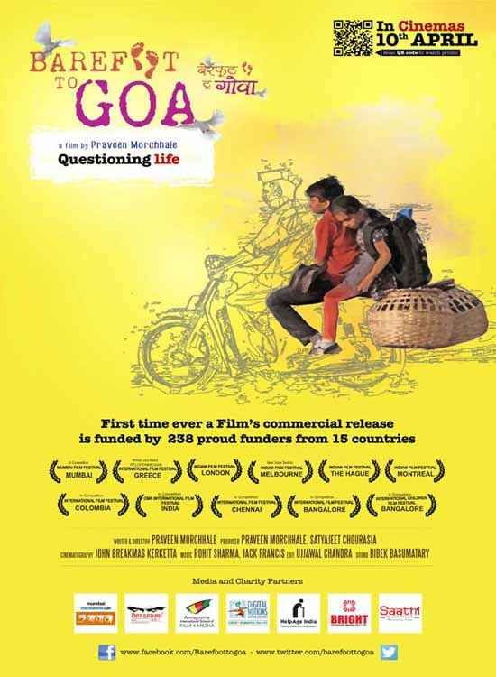 Barefoot To Goa  Poster