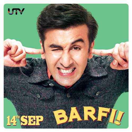 Barfee Ranbir Kapoor Image Poster