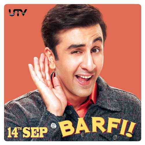 Barfi! Ranbir Kapoor Poster
