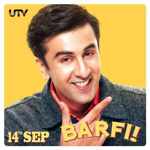 Barfee Ranbir Poster