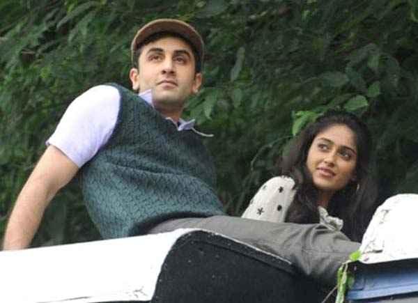 Barfee Ranbir Kapoor Ileana D Cruz Romantic Scene Stills