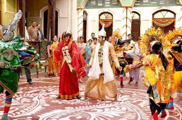 Barfi! Ranbir Kapoor Priyanka Chopra Dance Stills