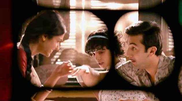 Barfee Ranbir Kapoor Priyanka Chopra Romantic Scene Stills