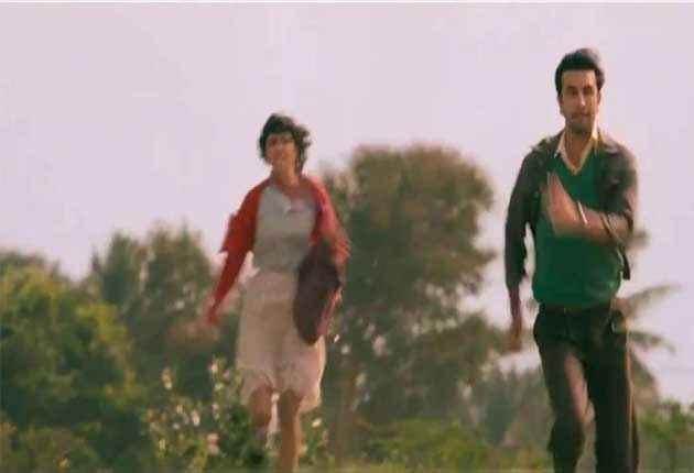 Barfee Ranbir Priyanka Action Stills