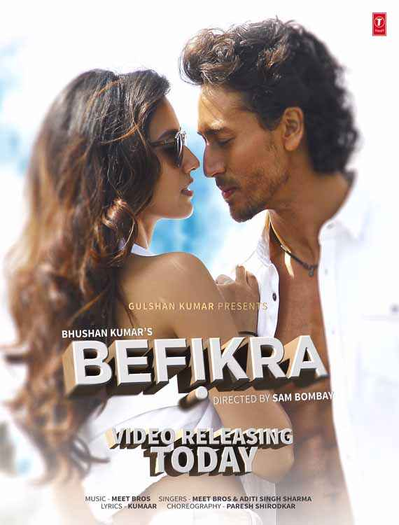 Befikra Wallpaper Poster
