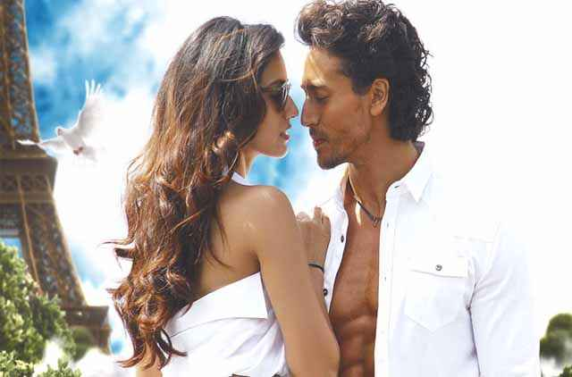 Befikra Disha Patani Tiger Shroff Romance Stills