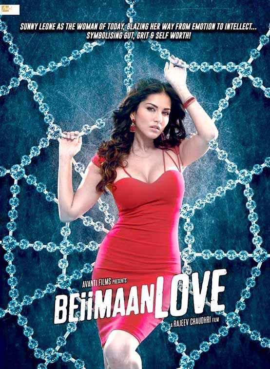 Beiimaan Love Sunny Leone HD Wallpaper Poster