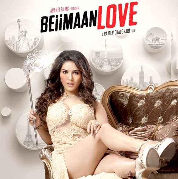 Beiimaan Love Sunny Leone Hot Poster