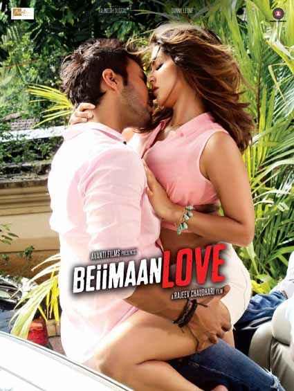 Beiimaan Love Sunny Leone Rajneesh Duggal Hot Poster