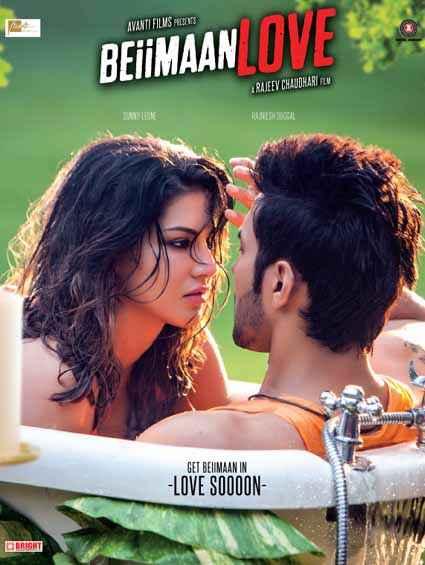 Beiimaan Love Sunny Leone Rajneesh Duggal Poster
