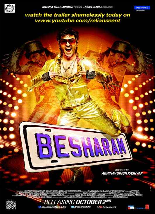Besharam First Look Poster