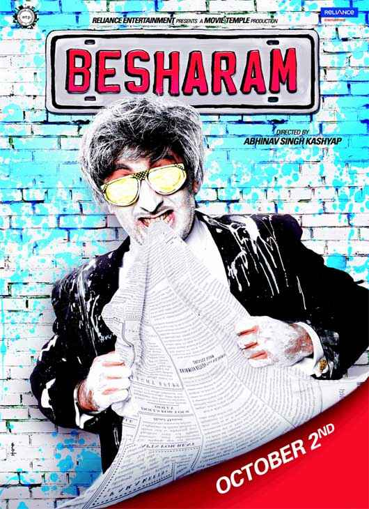 Besharam Wallpaper Poster