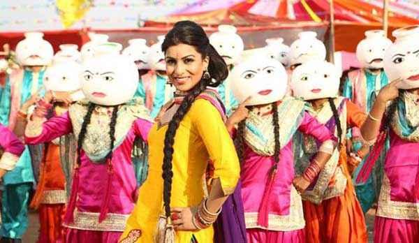 Besharam Pallavi Sharda Bhangra Dance Stills