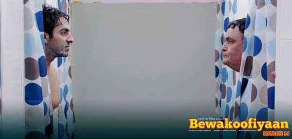 Bewakoofiyaan Ayushmann Khurrana Rishi Kapoor Comedy Scene Stills