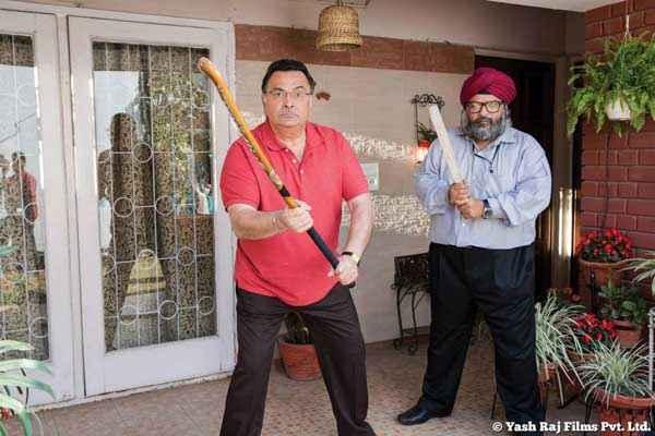 Bewakoofiyaan Rishi Kapoor With Stick Stills