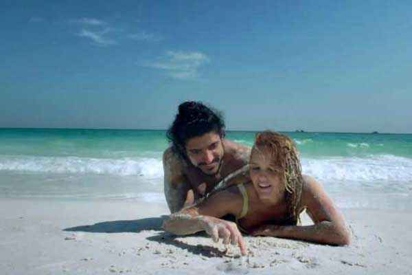 Bhaag Milkha Bhaag Beach Bikini Scene Stills