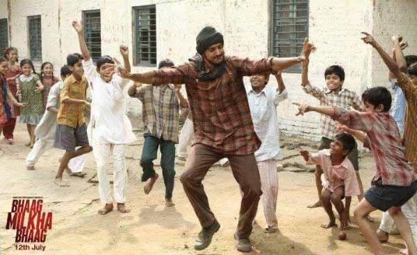 Bhaag Milkha Bhaag Farhan Akhtar Dance Stills