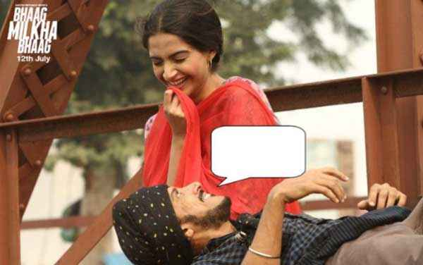Bhaag Milkha Bhaag Farhan Akhtar Sonam Kapoor Romance Stills