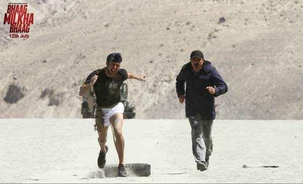Bhaag Milkha Bhaag Running Practice Stills