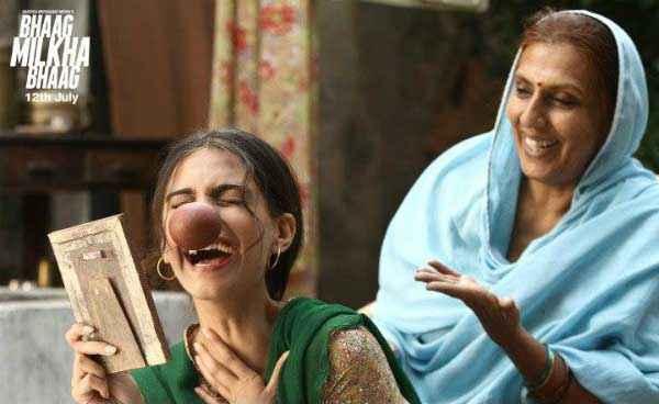 Bhaag Milkha Bhaag Sonam Kapoor Comedy Scene Stills