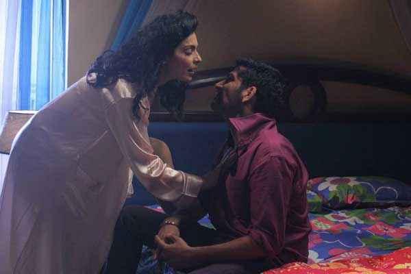 Bhadaas Aryeman Meera Bed Scene Stills