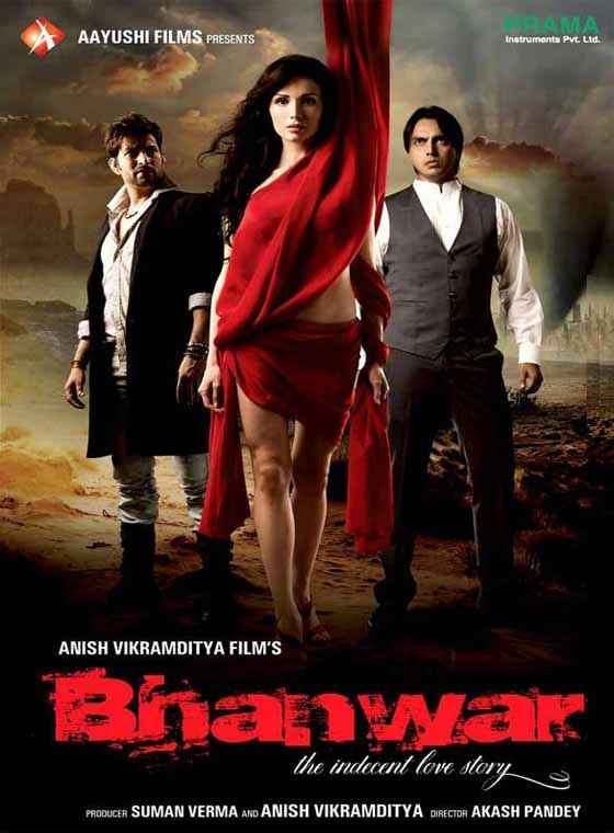 Bhanwar - The Indecent Love  Poster